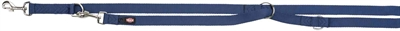 Trixie hondenriem premium verstelbaar nylon indigo blauw