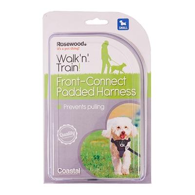 Rosewood walk 'n' train hondentuig aanlijning voorzijde