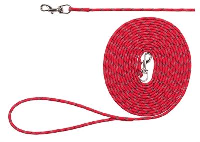 Trixie junior hondenriem sleeplijn lang rood
