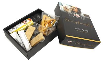 Snuffle vis en patat box
