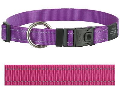 Rogz for dogs lumberjack halsband roze