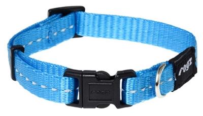 Rogz for dogs nitelife halsband turquoise