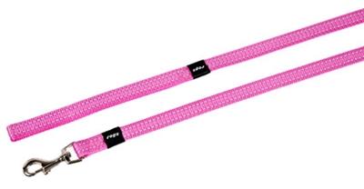 Rogz for dogs snake long lijn roze