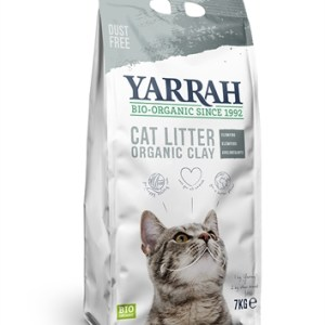 Yarrah biologische kattenbakvulling