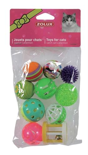Zolux kattenspeelgoed multi assorti