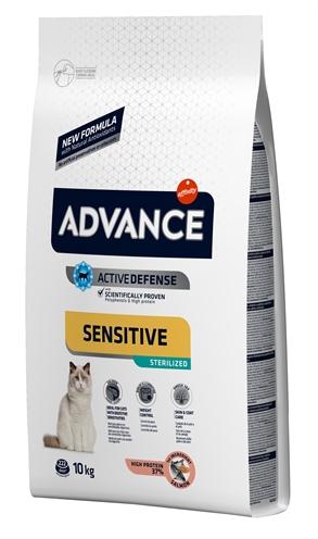 Advance cat sterilized sensitive salmon
