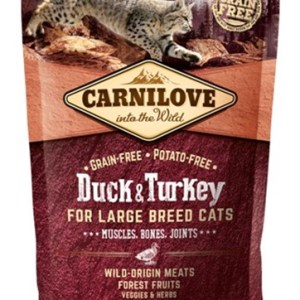 Carnilove duck / turkey large breed