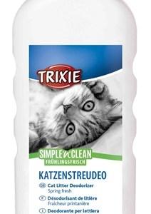 Trixie simple'n'nclean geurverdrijver kattenbak lentefris