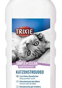 Trixie simple'n'nclean geurverdrijver kattenbak babypoedergeur