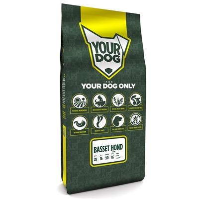 Yourdog basset hond pup