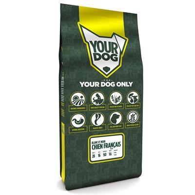 Yourdog chien franÇais blanc et noir pup
