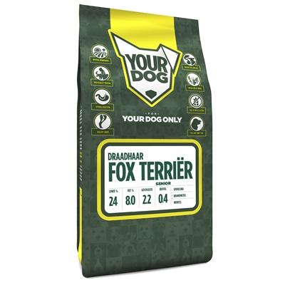 Yourdog fox terriËr draadhaar senior