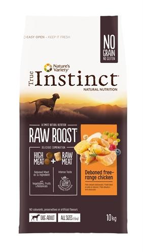 True instinct raw boost medium adult chicken