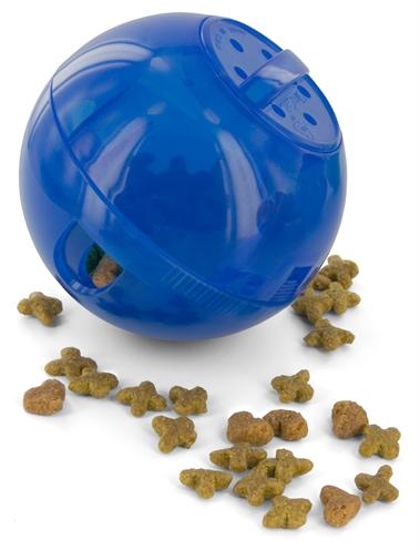 Petsafe slimcat voerbal blauw