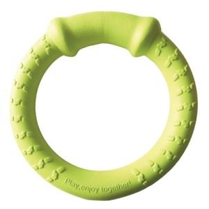 Happy pet tough toys hoop tugger geel