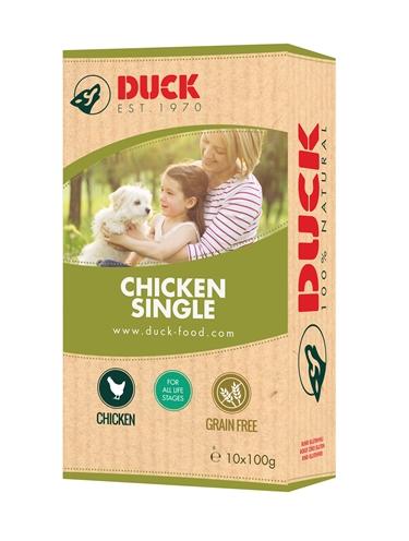 Duck enkelvoudig kip
