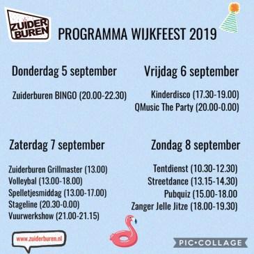 Wijkfeest 2019