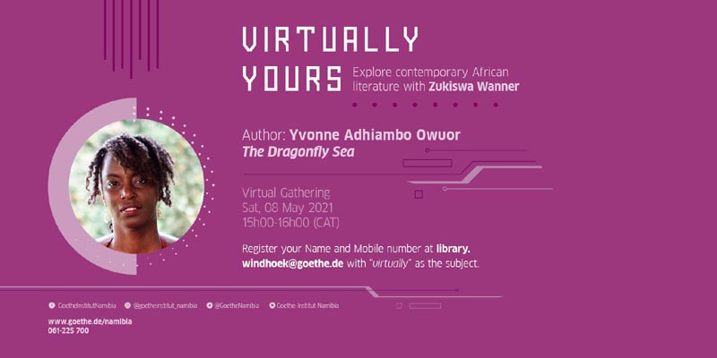 May 8: Virtually Yours with Yvonne Adhiambo Owuor