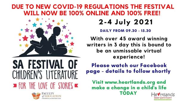 July 4: SA Festival of Children's Fiction appearance