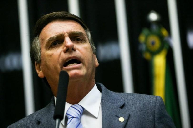 Bolsonaro palanque