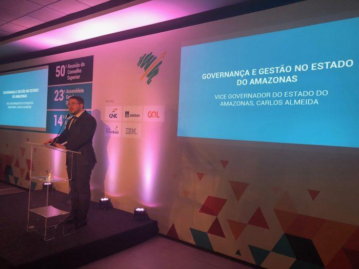 governo do amazonas Carlos almeida