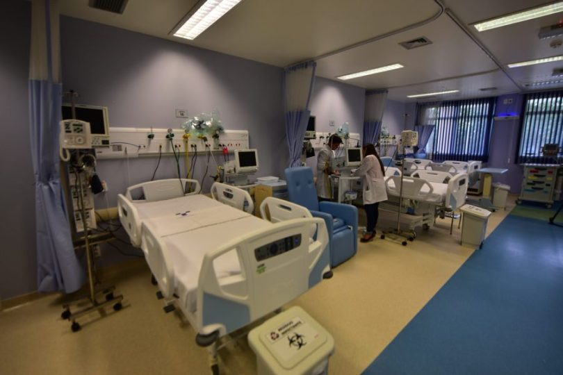 Ministério da Saúde Leitos UTI HPS Zona Norte