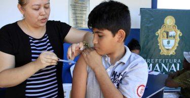 vacinação sarampo SEMSA