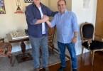 Ricardo Nicolau com Gilberto Kassab | Foto: Divulgação