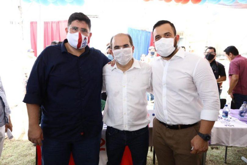 Eleições 2020: Ricardo Nicolau, George Lins e Hissa Abrahão | Fotos: Marcelo Cadilhe
