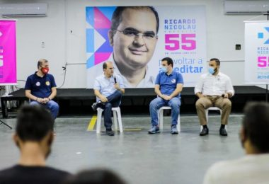 Eleições 2020 Ricardo Nicolau   Fotos: Grazielle Fernandes
