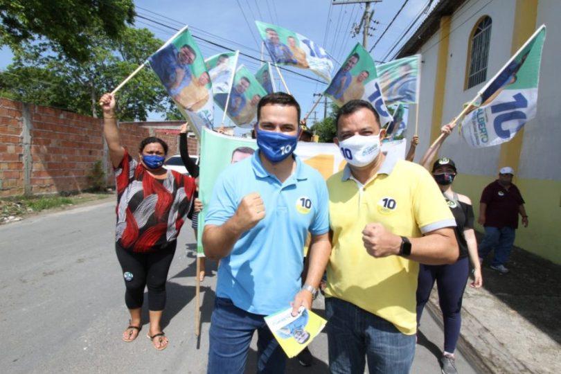 Eleições 2020 Alberto Neto | Foto: Euzivaldo Queiroz e Gilson Mello