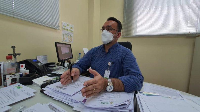 Silvio Romano, secretário executivo adjunto de Controle Interno | Foto: Rodrigo Santos - SES-AM