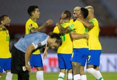Brasil x Uruguai Eliminatórias Copa do Mundo Quatar | foto: Internet