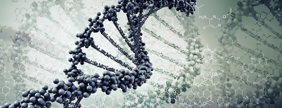 Digital Illustration of DNA