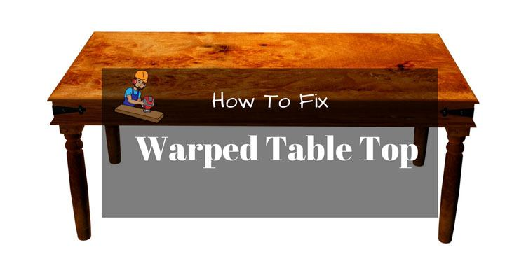 How To Stabilize A Table Top