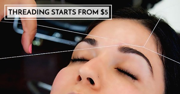 10 Affordable Places To Get Your Eyebrows Done in SG Under $16