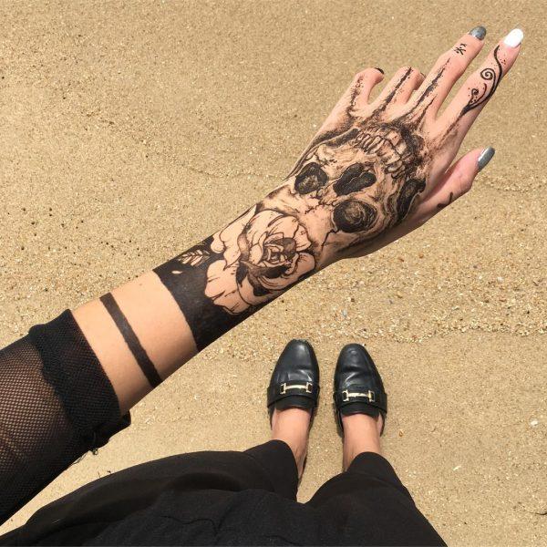 Jagua Henna Tattoo Review: Singapore Henna Artist Creates Stunning Temporary Tattoos