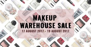 BeautyFresh Warehouse Sale—Beauty Products Such As Chanel, Dior and M.A.C Up To 80% Off (August 2017)