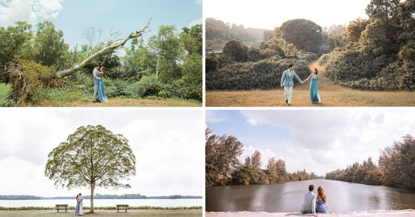 11 Pre-Wedding Shoot Locations In Singapore For DIY Couple Pics With Just A Tripod