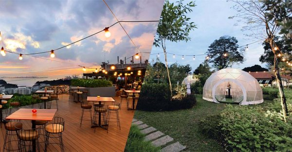 8 Romantic Restaurants In Singapore Worthy Of Date Nights And Proposals