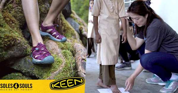 Donate Your Used Shoes To KEEN & Soles4Souls To Benefit The Needy From 6 To 8 Dec 2019