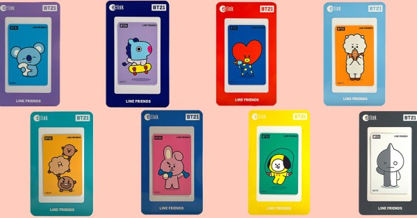 BT21 EZ-Link Cards Are Now Available At Popular BookFest To Add Some Colour To Your Commute
