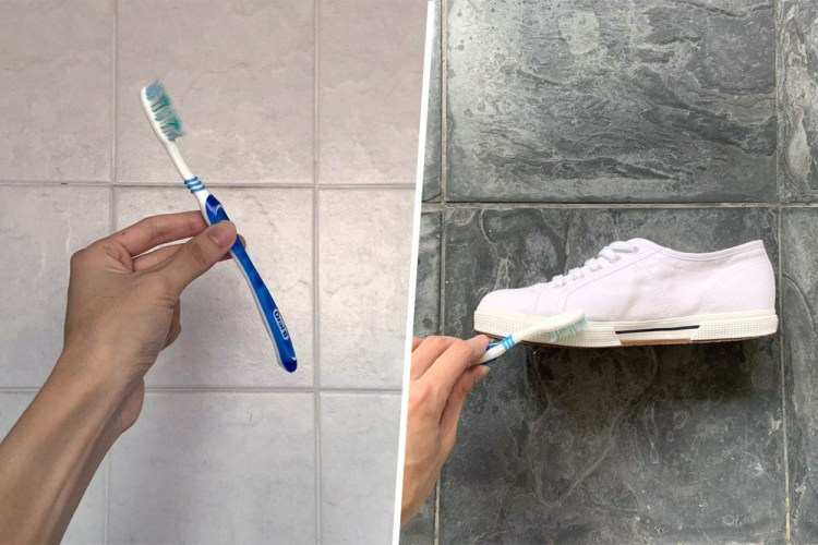 toothbrush cleaning