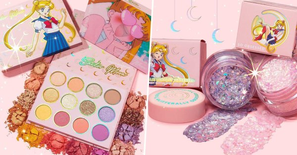 The Sailor Moon x Colourpop Collection Is Out Of This World And Includes Holographic Body Glitter