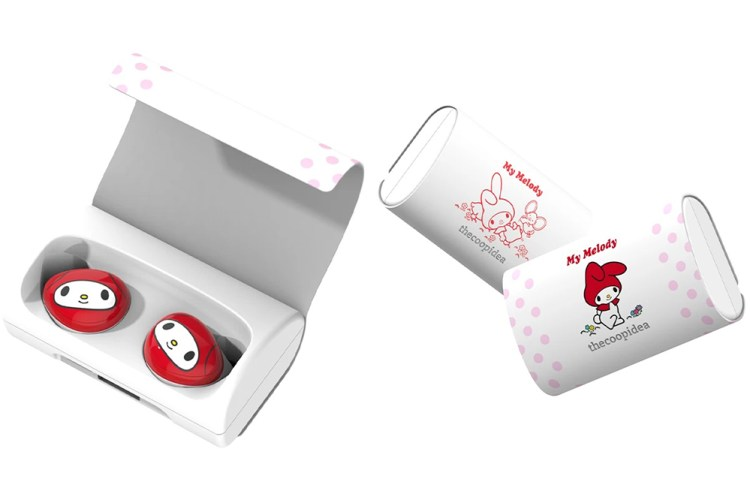 sanrio the coop idea my melody earbuds