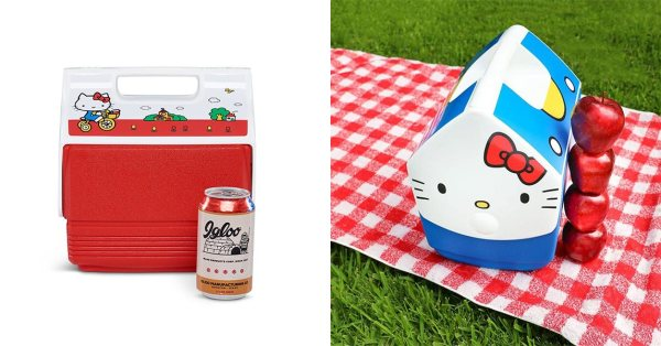 Sanrio x Igloo Hello Kitty Coolers Let You BYOB On Your Next Picnic Date Away From The Crowds