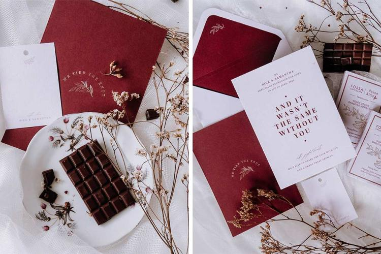 Papypress wedding announcement packages fossa