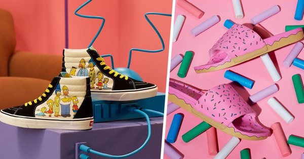 Vans x The Simpsons Is A Bright & Colourful Celebration Of Home, Family & Community