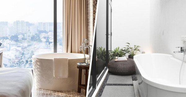 11 Gorgeous Hotel Rooms With Bathtubs In Singapore From $205.20/Night For Couples To Satisfy Their Wanderlust