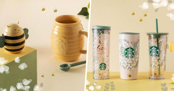 Starbucks Singapore's Valentine's Day Collection Is The Cutest Way To Ask Someone To Bee Your Valentine